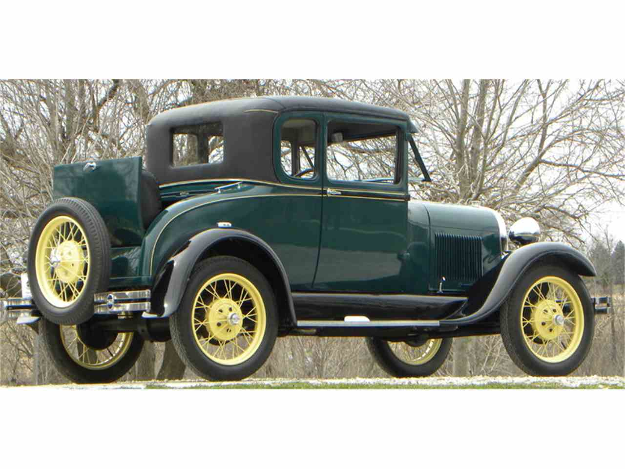 Large Picture of 1929 Model A located in Illinois Offered by Volo Auto Museum - L1MN
