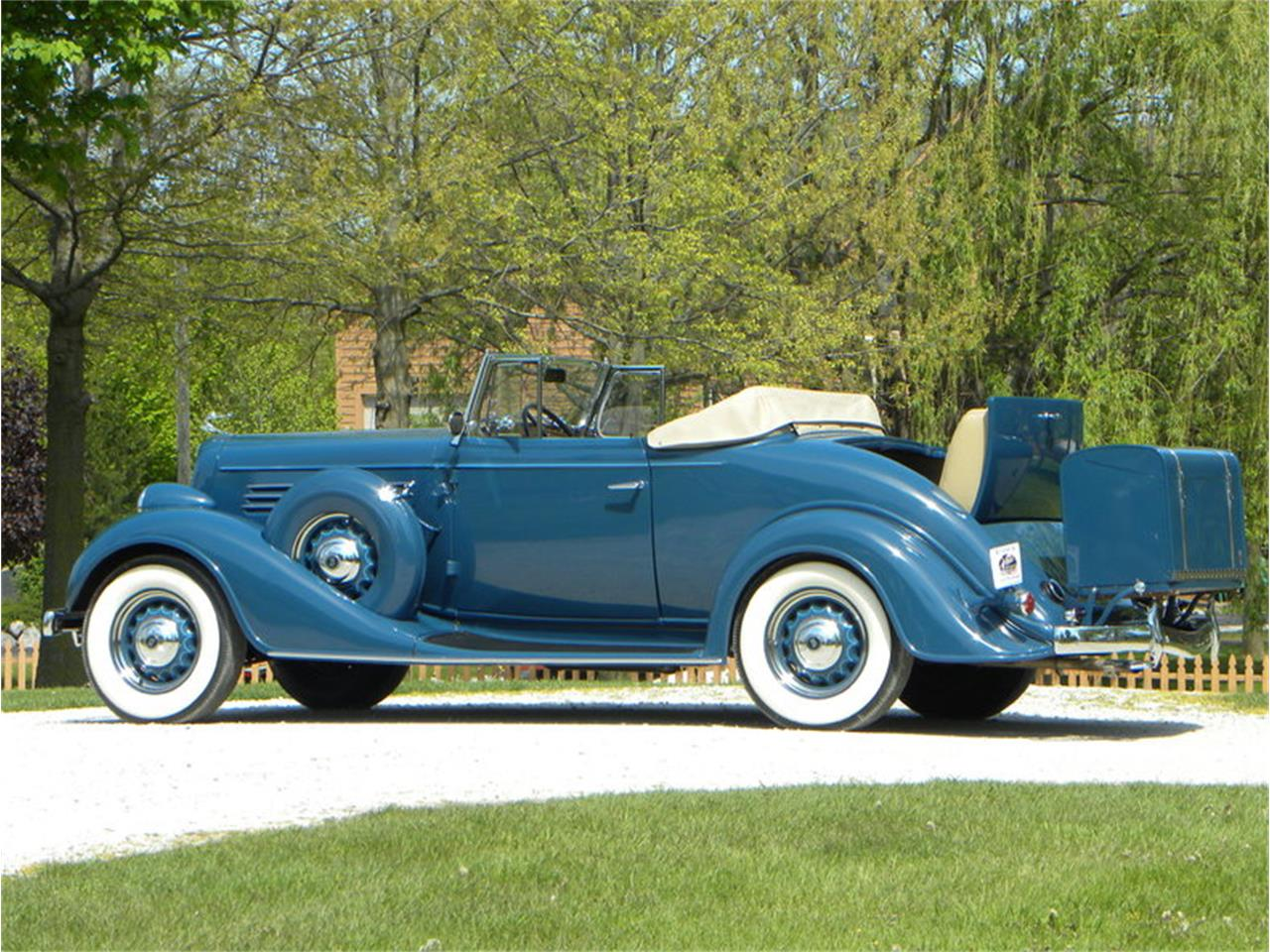 Large Picture of '35 46 C Special Convertible Coupe - L1MT