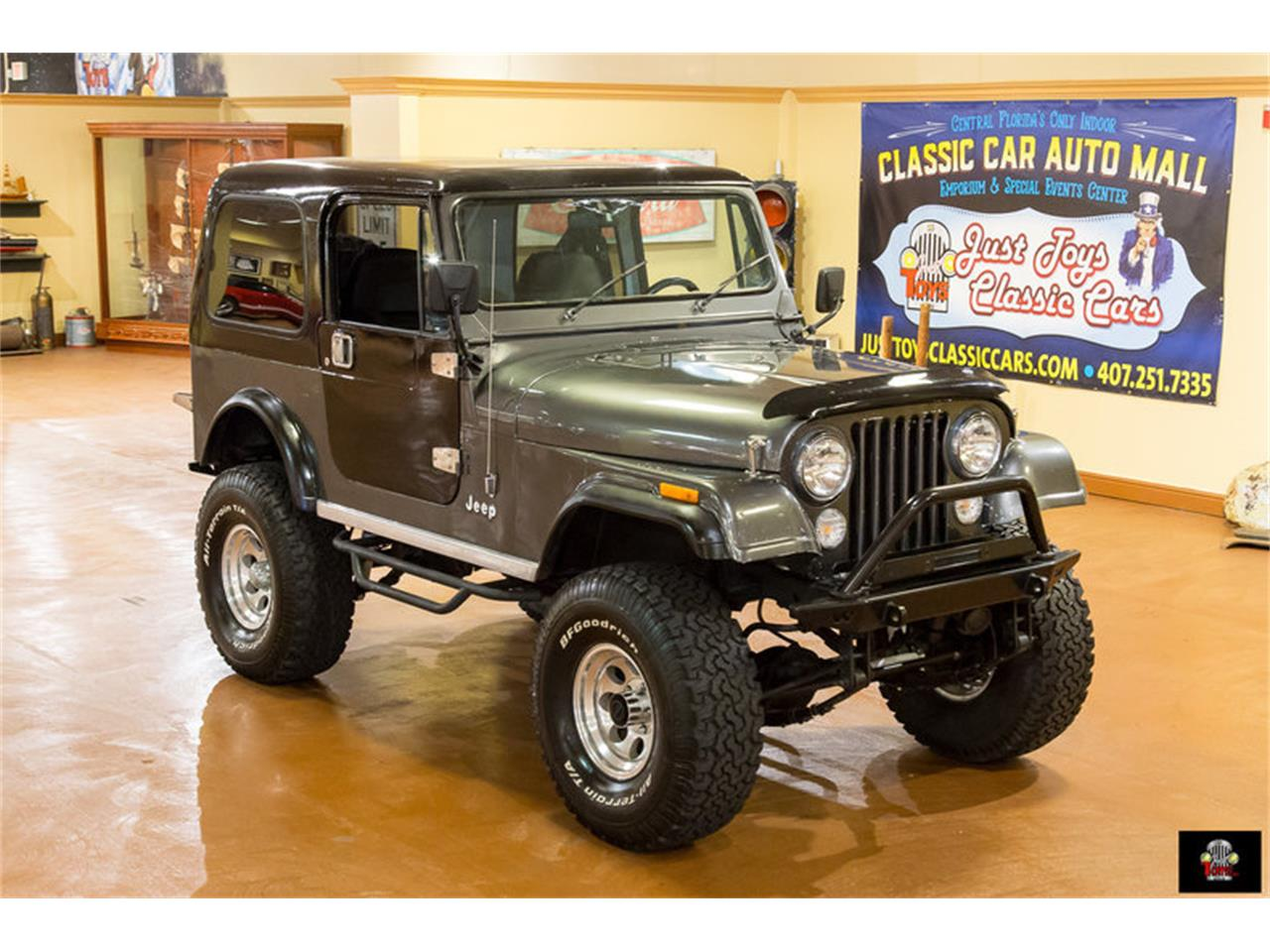 Large Picture of 1986 Jeep CJ7 located in Florida - $22,995.00 Offered by Just Toys Classic Cars - L1NQ