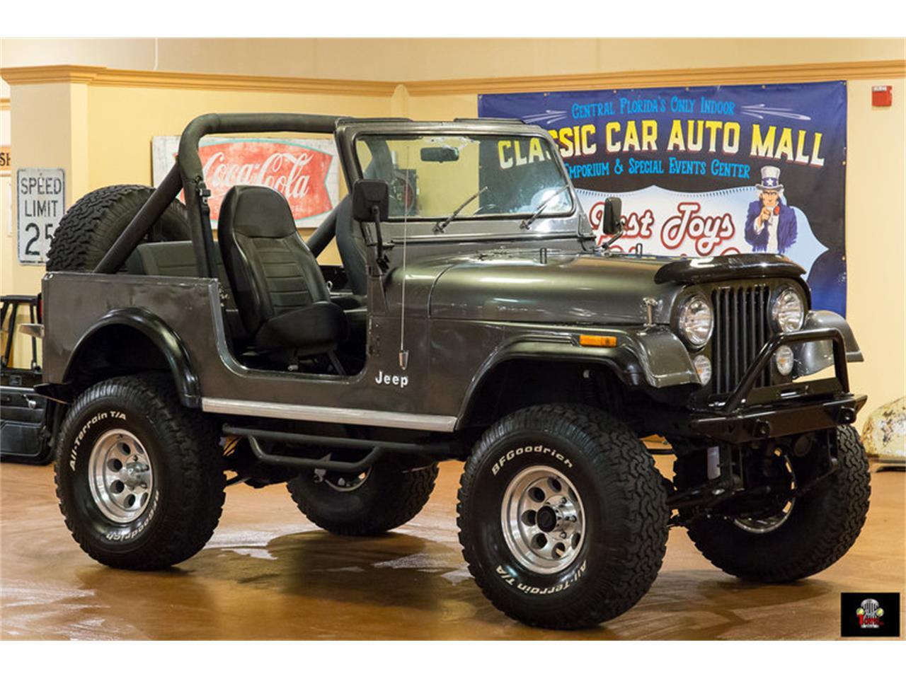Large Picture of '86 Jeep CJ7 located in Orlando Florida - L1NQ