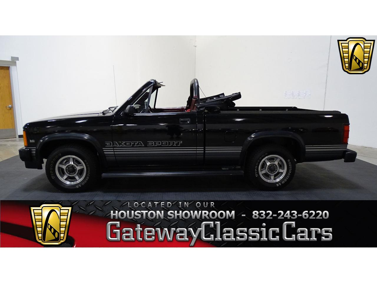 Large Picture of 1989 Dodge Dakota Offered by Gateway Classic Cars - Houston - L1SP
