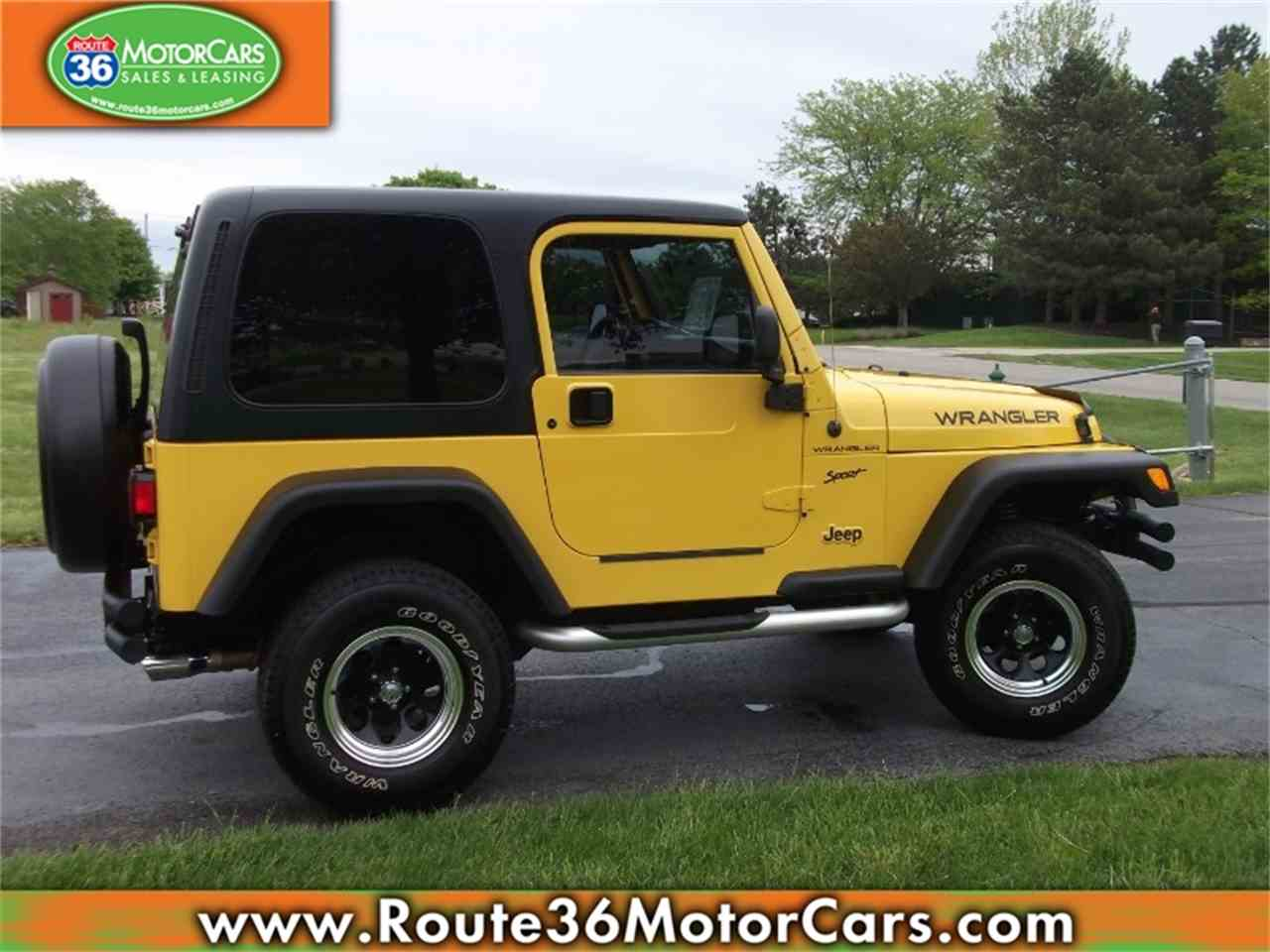 Large Picture of '02 Wrangler - L1TV
