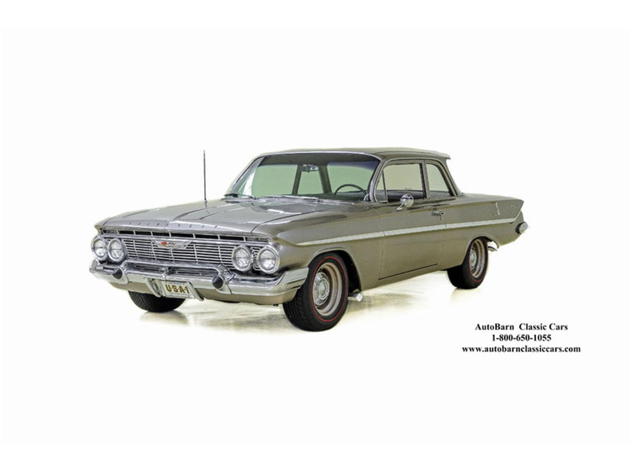 Large Picture of '61 Chevrolet Bel Air located in North Carolina Offered by Autobarn Classic Cars - L2BK