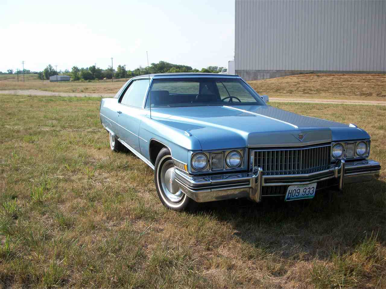 1973 Cadillac Coupe DeVille for Sale | ClicCars.com | CC-982928