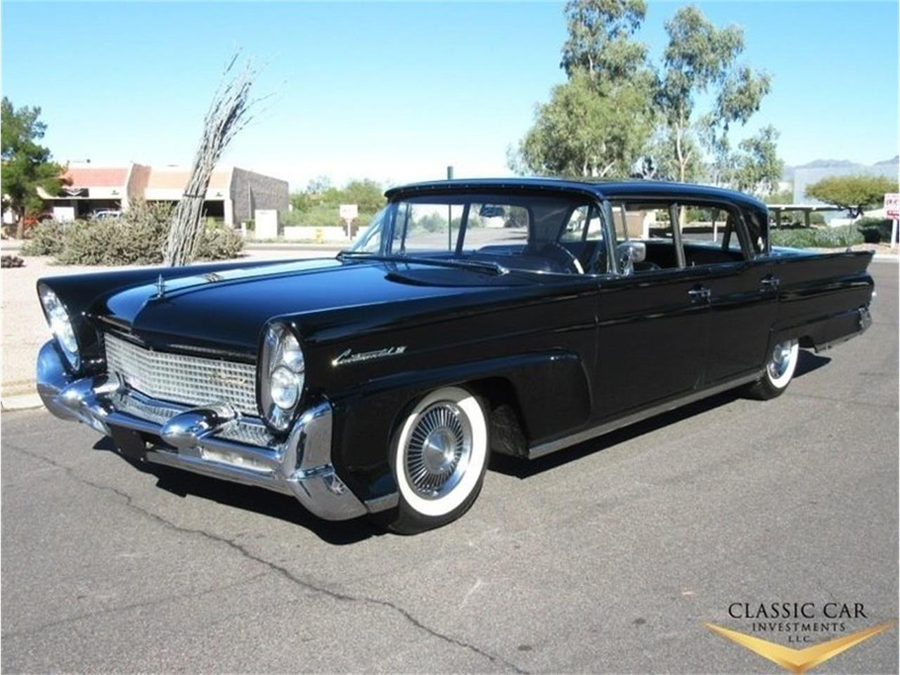 For Sale 1958 Lincoln Continental Mark Iii In Scottsdale Arizona