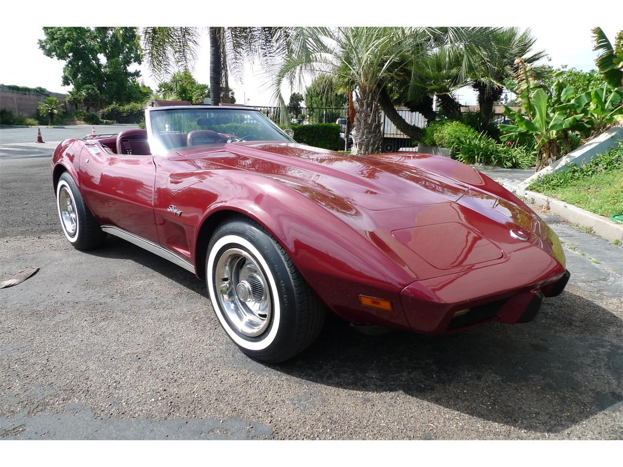 Large Picture of '75 Chevrolet Corvette located in California Offered by Coast Corvette - L2GP