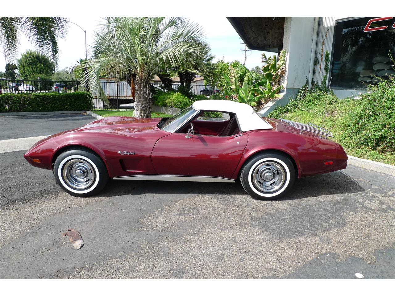 Large Picture of 1975 Chevrolet Corvette located in Anaheim California Offered by Coast Corvette - L2GP