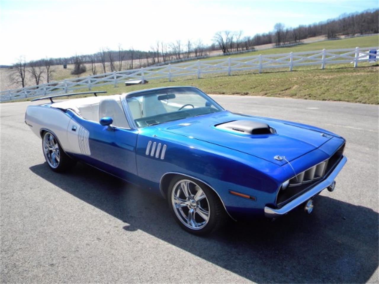 Large Picture of 1971 Plymouth Cuda located in Indiana Pennsylvania - $124,900.00 Offered by Hanksters Hot Rods - L2NE