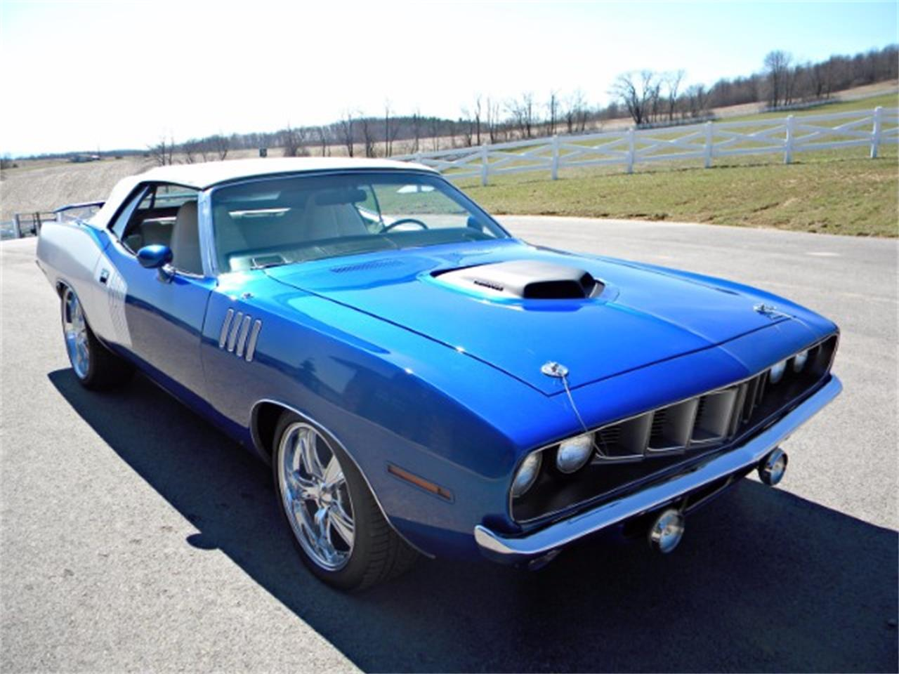 Large Picture of Classic '71 Plymouth Cuda located in Indiana Pennsylvania - L2NE