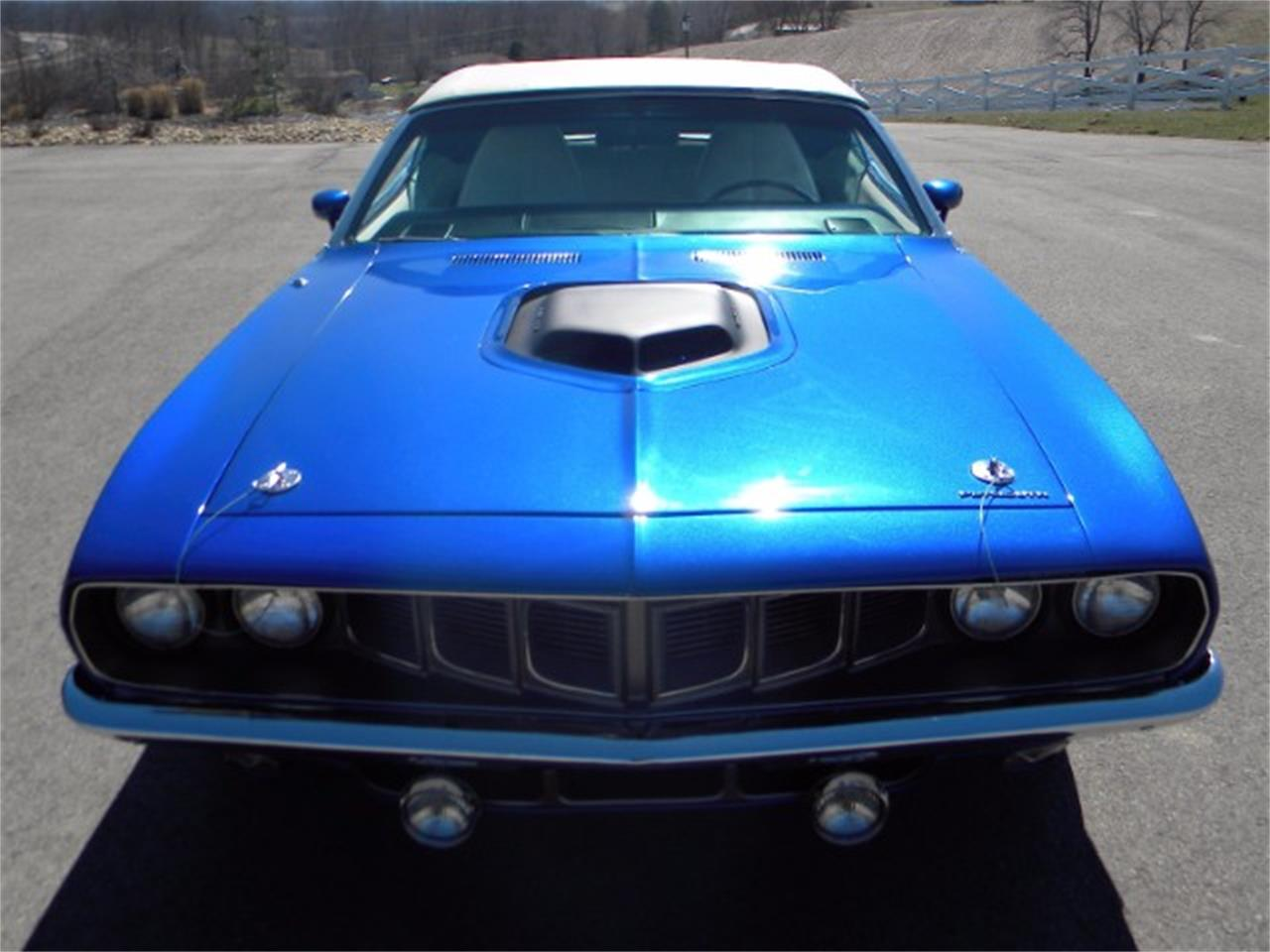 Large Picture of Classic 1971 Plymouth Cuda - L2NE