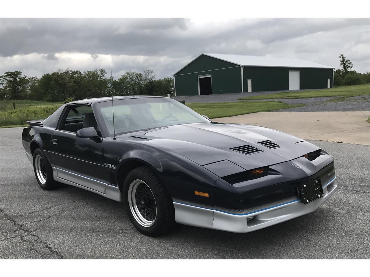 1986 Pontiac Firebird Trans Am For Sale