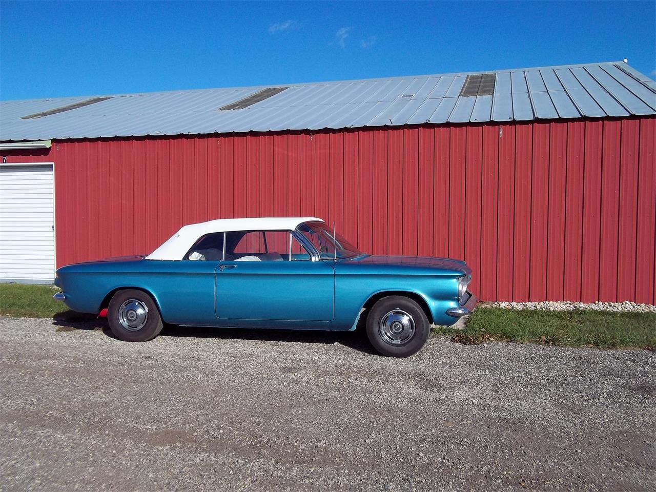 Large Picture of Classic '63 Chevrolet Corvair Monza located in Madison Wisconsin Offered by a Private Seller - L2P4