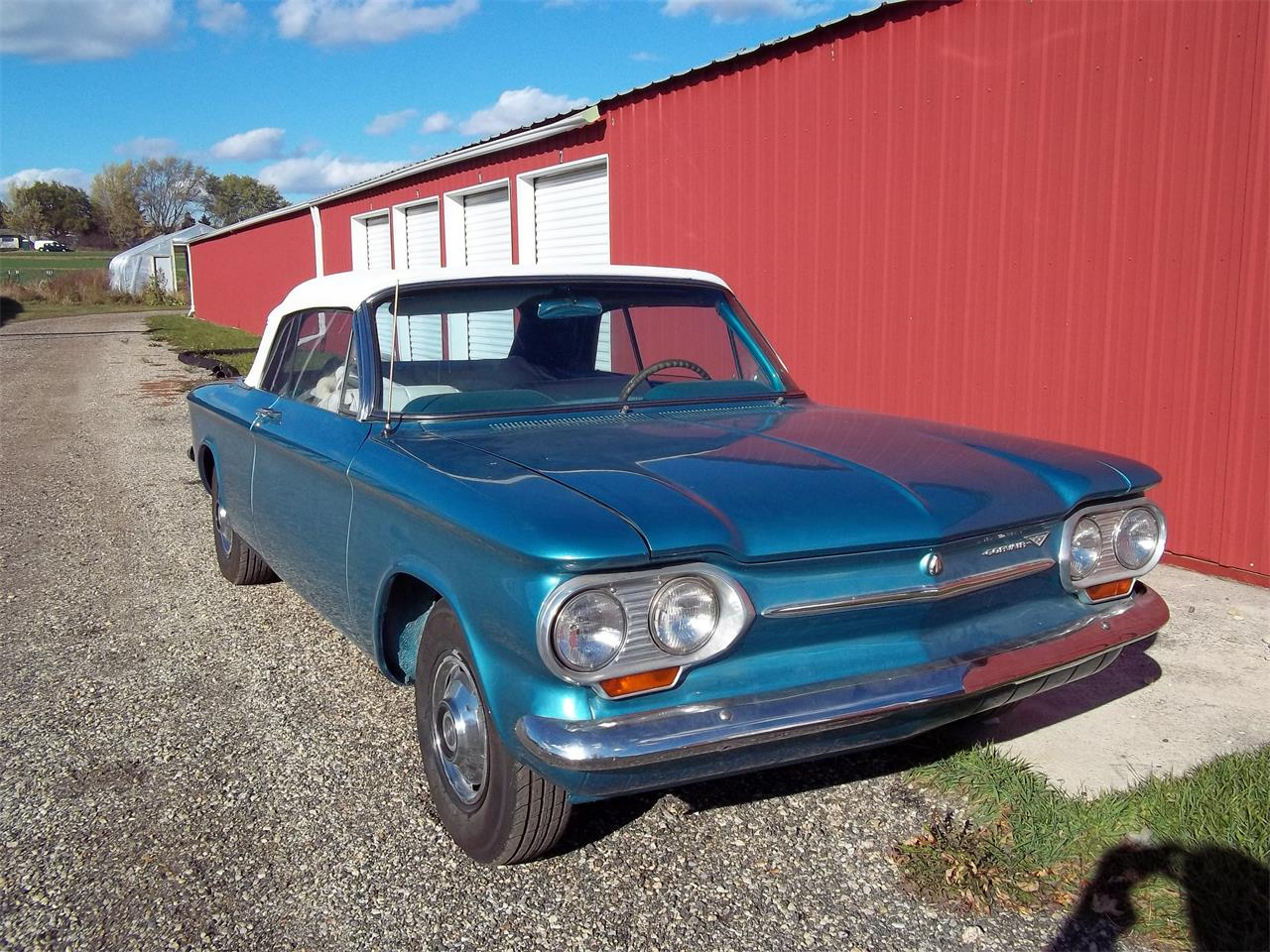 Large Picture of 1963 Chevrolet Corvair Monza located in Wisconsin - $8,500.00 Offered by a Private Seller - L2P4
