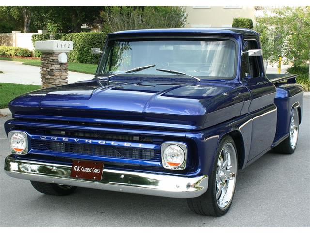 1966 chevrolet c k 10 for sale on. Black Bedroom Furniture Sets. Home Design Ideas