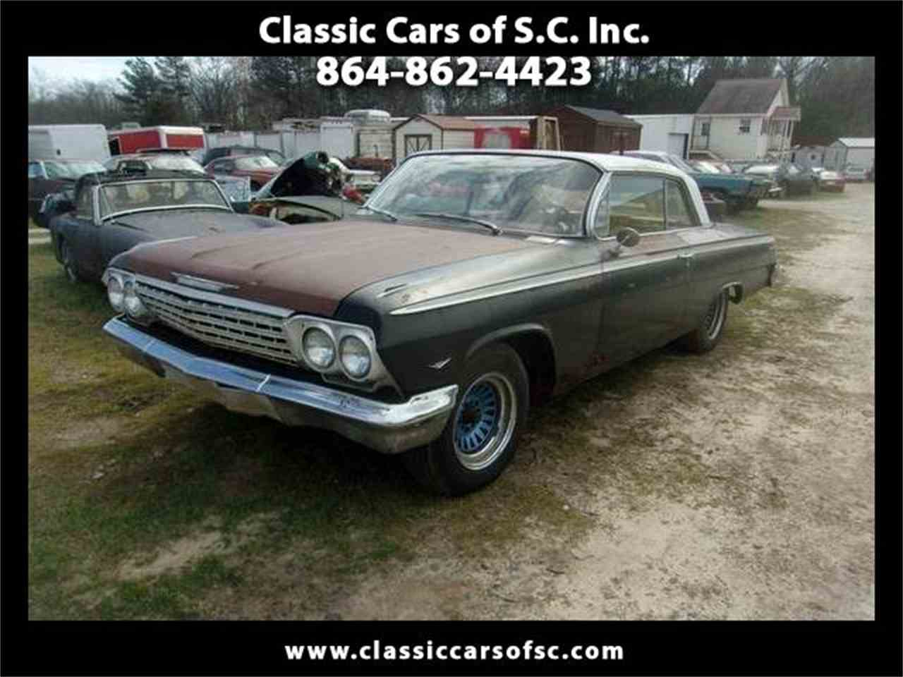 Large Picture of 1962 Impala located in Gray Court South Carolina Offered by Classic Cars of South Carolina - L2T6