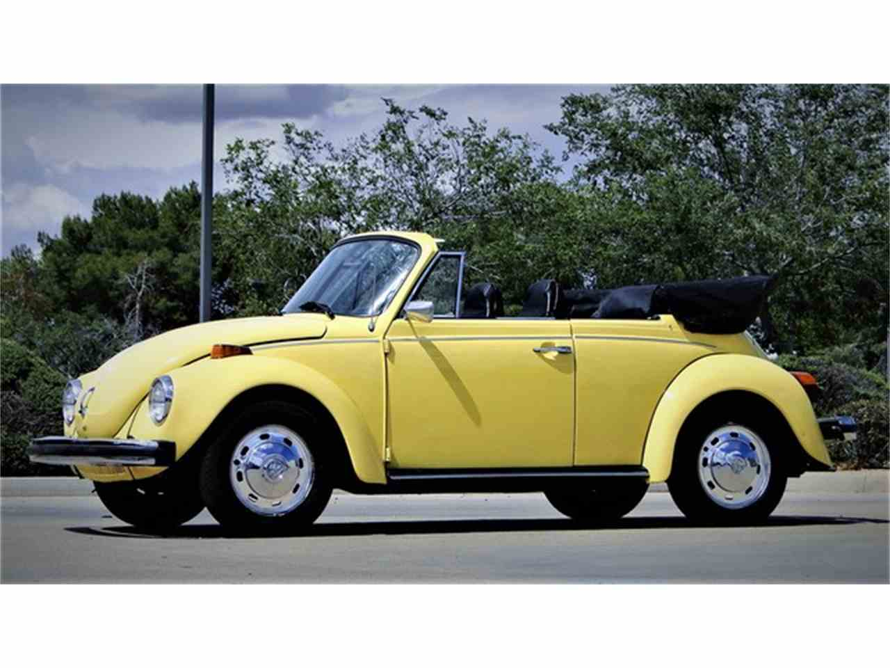1974 volkswagen super beetle convertible for sale cc 983588. Black Bedroom Furniture Sets. Home Design Ideas