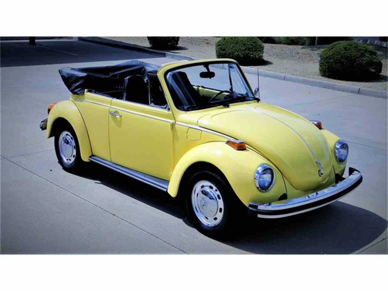 1974 Volkswagen Super Beetle Convertible For Sale Classiccars Com Cc 983588