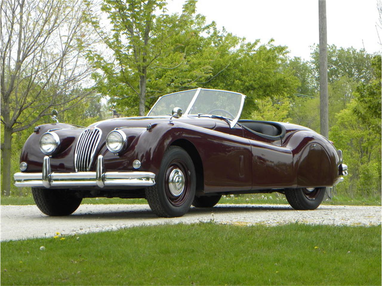 Large Picture of '55 Jaguar XK-140 Sport Roadster located in Illinois - L2YC