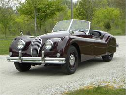 Picture of Classic '55 Jaguar XK-140 Sport Roadster located in Volo Illinois Offered by Volo Auto Museum - L2YC