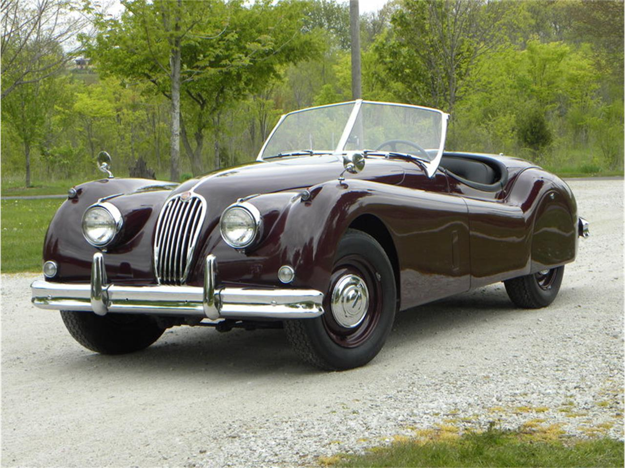 Large Picture of 1955 Jaguar XK-140 Sport Roadster located in Volo Illinois - $129,000.00 Offered by Volo Auto Museum - L2YC