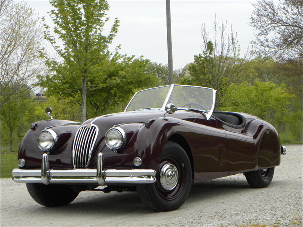 Large Picture of '55 Jaguar XK-140 Sport Roadster located in Illinois Offered by Volo Auto Museum - L2YC