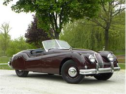 Picture of 1955 Jaguar XK-140 Sport Roadster Offered by Volo Auto Museum - L2YC