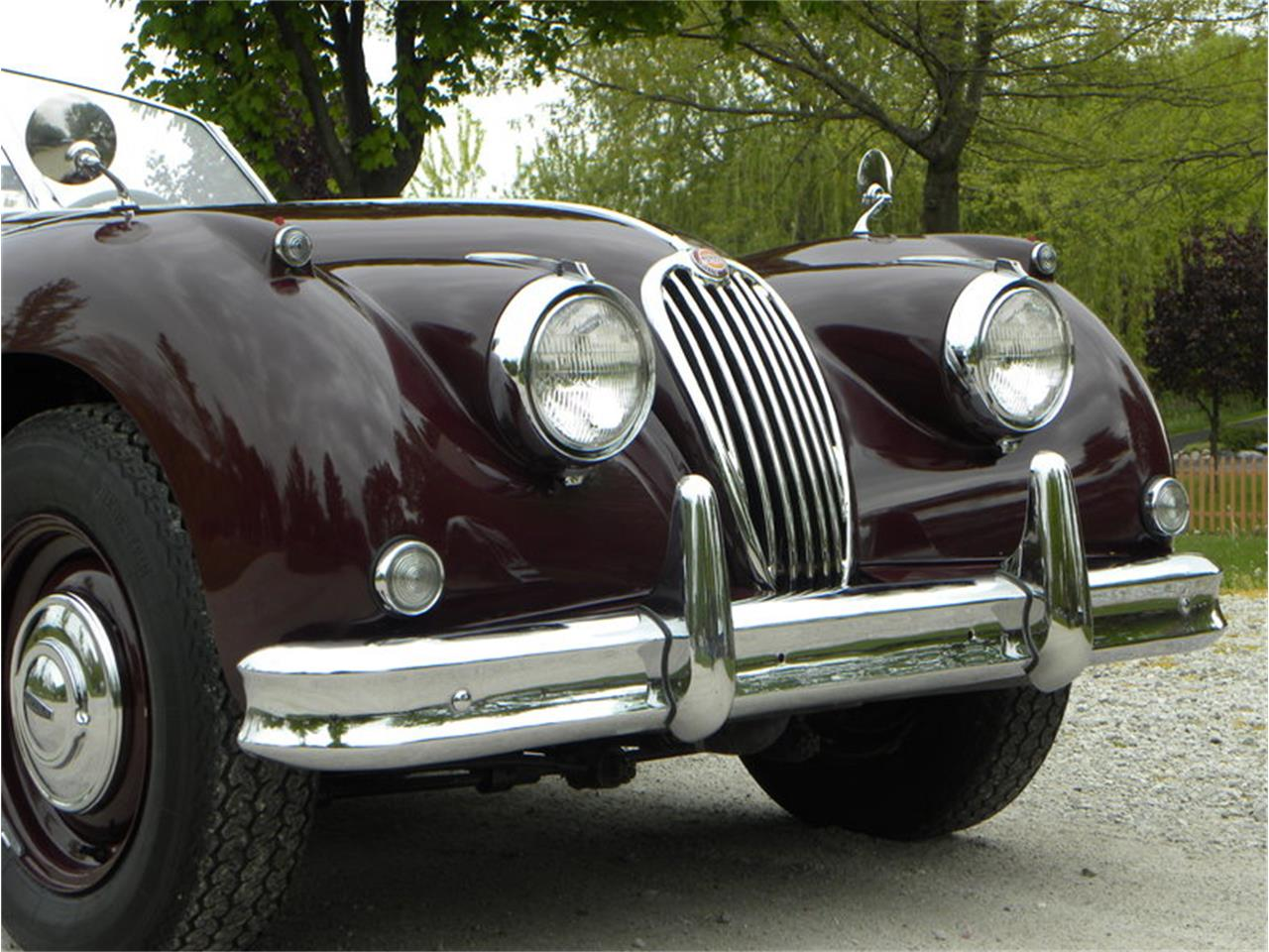 Large Picture of Classic '55 Jaguar XK-140 Sport Roadster located in Volo Illinois - L2YC