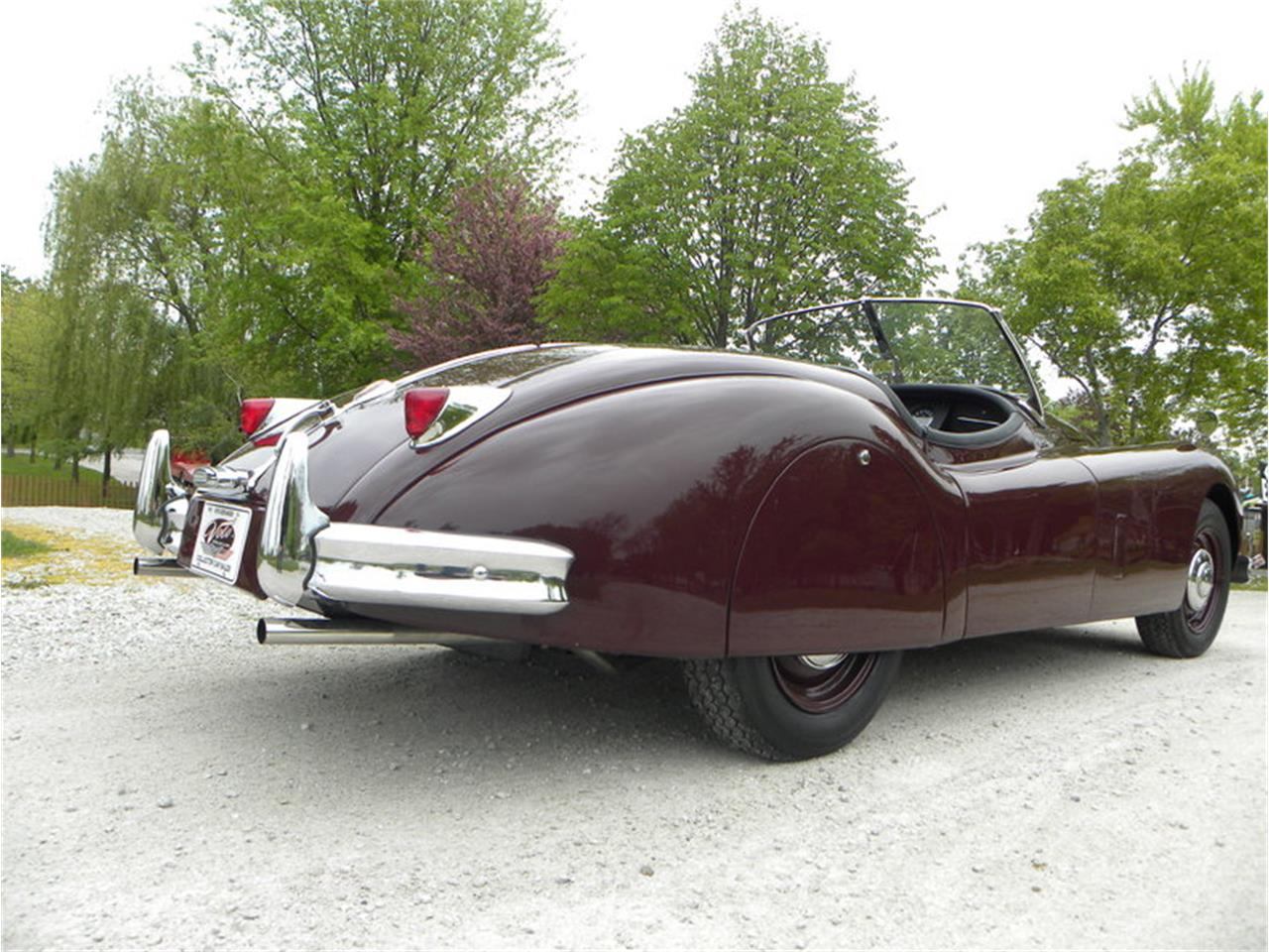 Large Picture of 1955 XK-140 Sport Roadster located in Illinois - $129,000.00 - L2YC