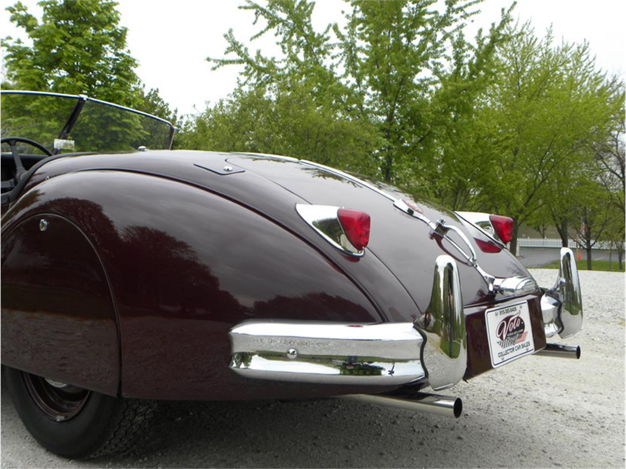 Large Picture of '55 Jaguar XK-140 Sport Roadster located in Illinois - $129,000.00 Offered by Volo Auto Museum - L2YC