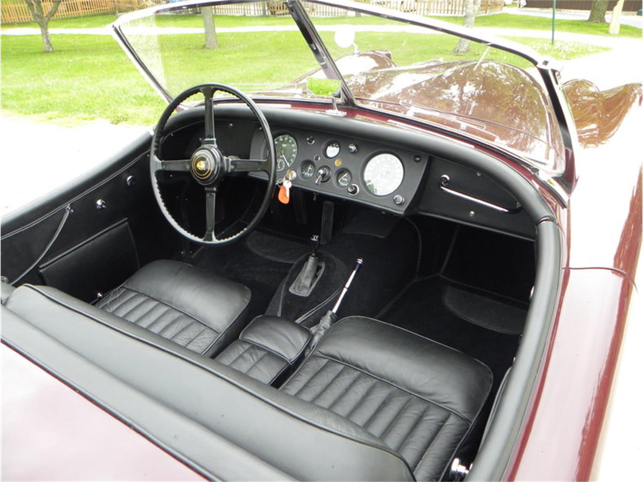 Large Picture of 1955 XK-140 Sport Roadster located in Illinois Offered by Volo Auto Museum - L2YC