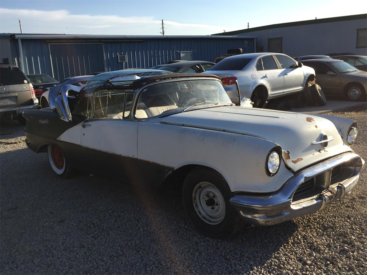 Large Picture of Classic '56 Oldsmobile  Super 88  - $20,000.00 Offered by a Private Seller - L2ZW