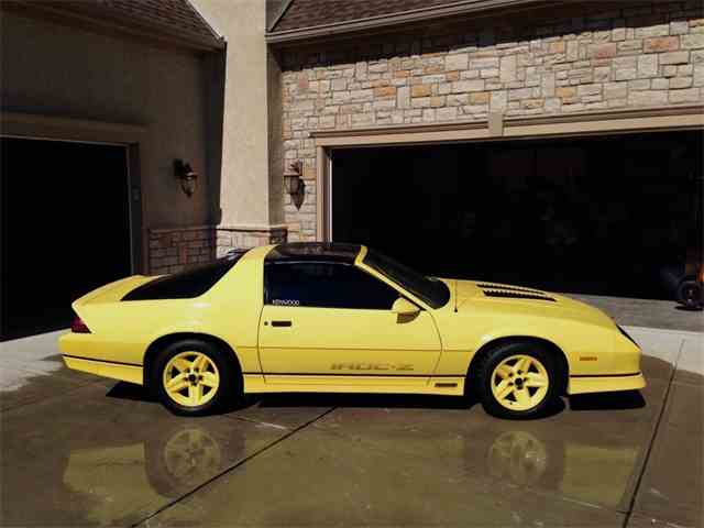 Picture of '86 Chevrolet Camaro IROC Z28 - L31E