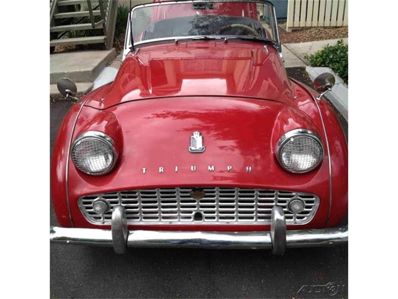 For Sale: 1962 Triumph TR3B in Online Auction, No state