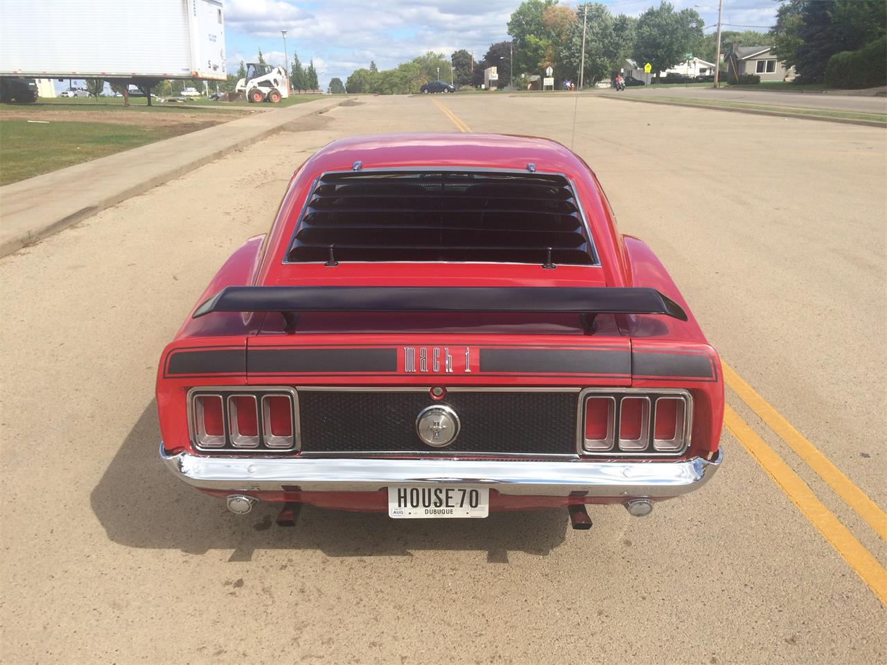 Large Picture of Classic 1970 Ford Mustang Mach 1 located in Iowa - $28,950.00 - L3C8