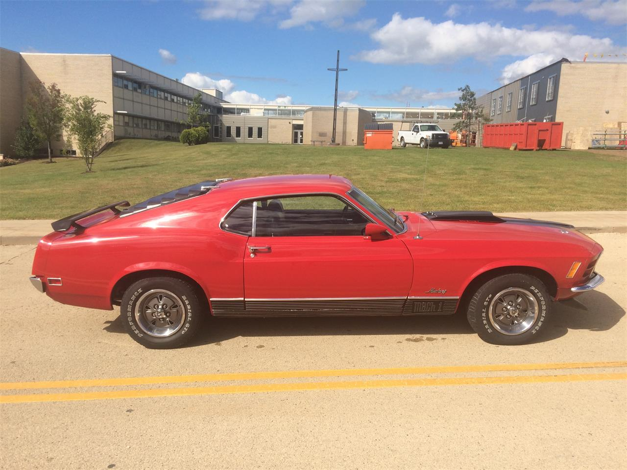 Large Picture of 1970 Ford Mustang Mach 1 located in Iowa - L3C8