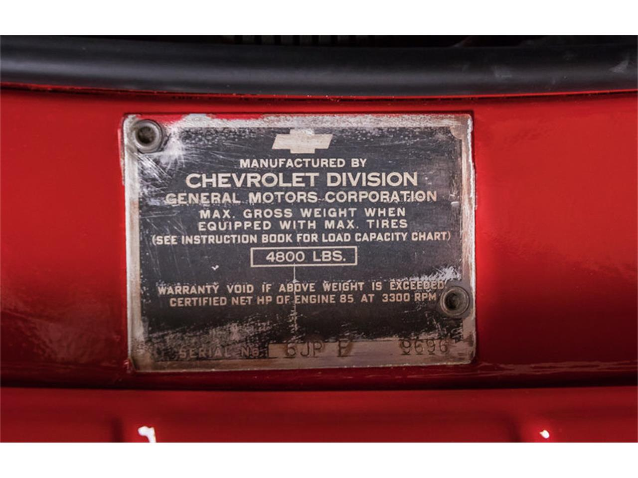 Large Picture of '51 3100 Stake Bed Pickup - L3FF