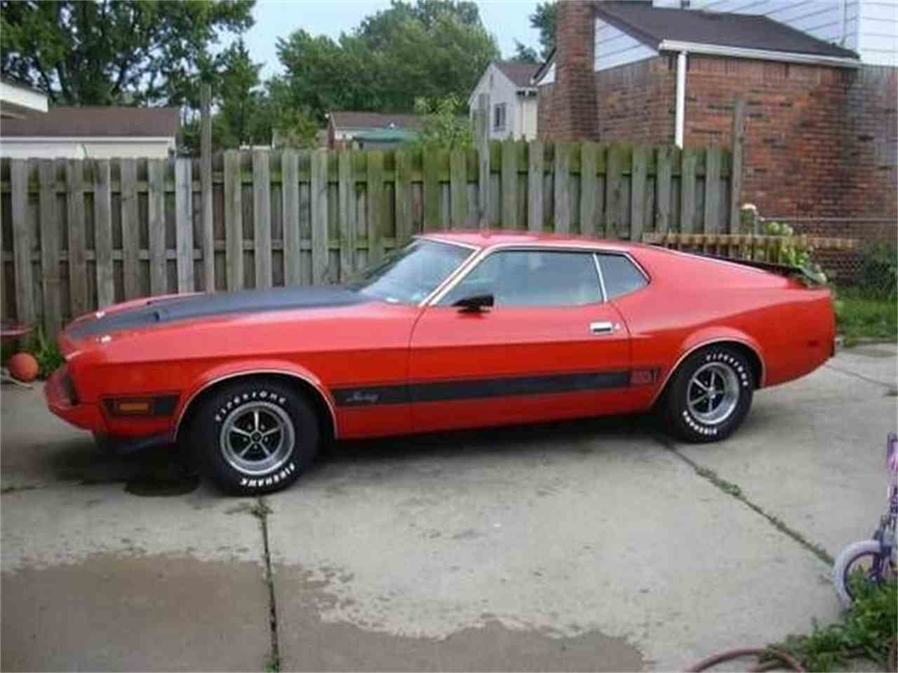 Large Picture of '73 Mustang - L3LV