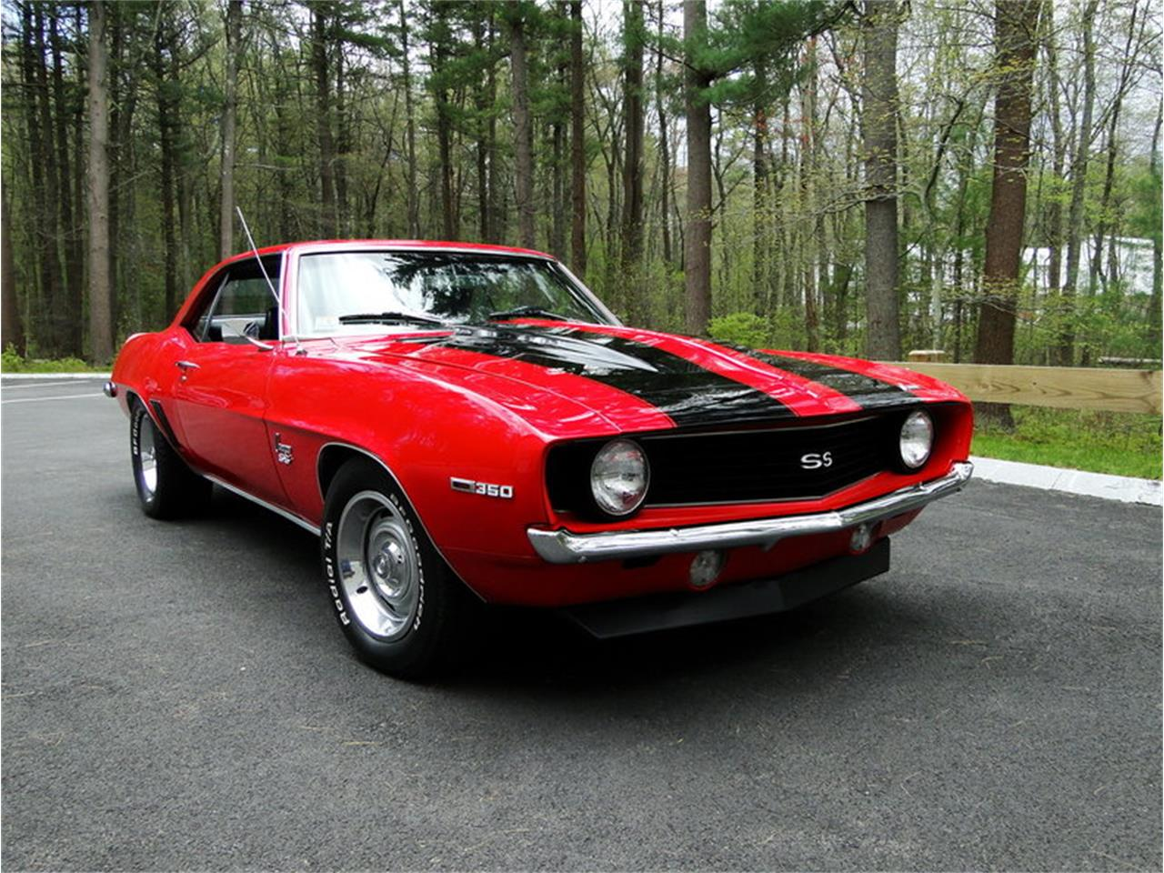 1969 Chevrolet Camaro Ss For Sale Classiccars Com Cc 984548