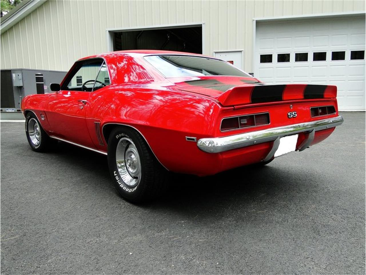 Large Picture of Classic '69 Chevrolet Camaro SS located in Massachusetts - $31,500.00 Offered by Legendary Motors LLC - L3OK