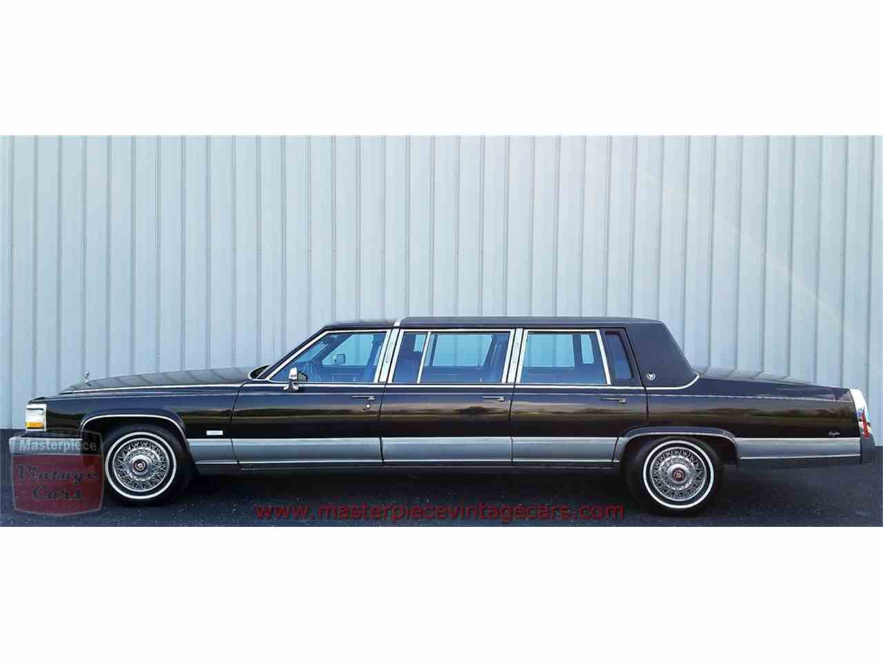 Large Picture of 1991 Cadillac Limousine - L3S4