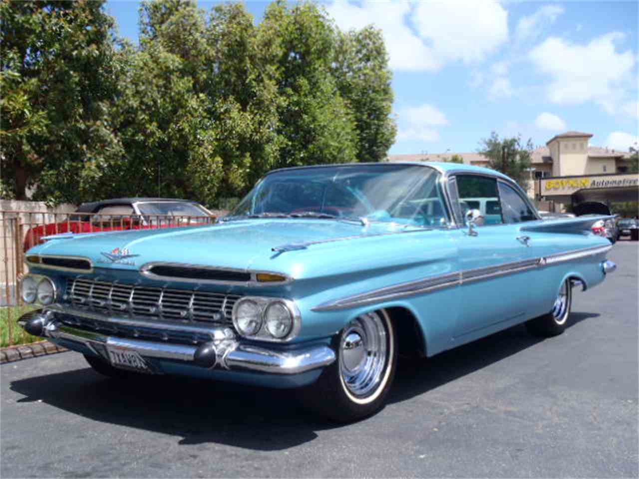 Classic Cars For Sale California Usa: 1959 Chevrolet Impala For Sale