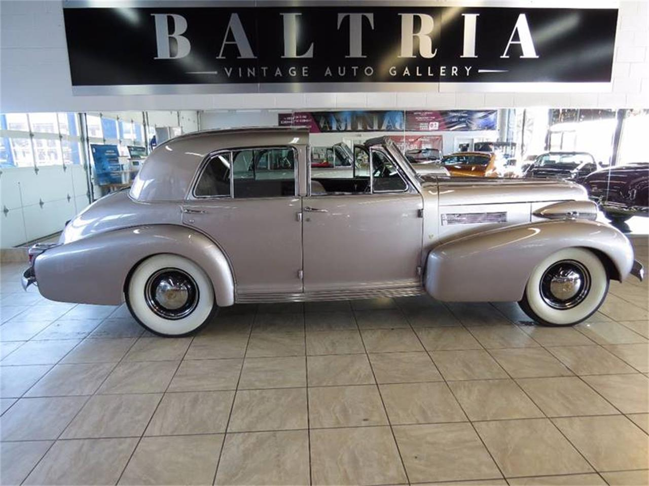 Large Picture of 1939 Sixty Special located in Illinois Offered by Baltria Vintage Auto Gallery - L47X