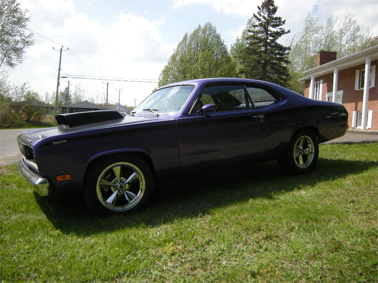 Large Picture of '71 Duster located in Drummondville Quebec Offered by a Private Seller - L4GO
