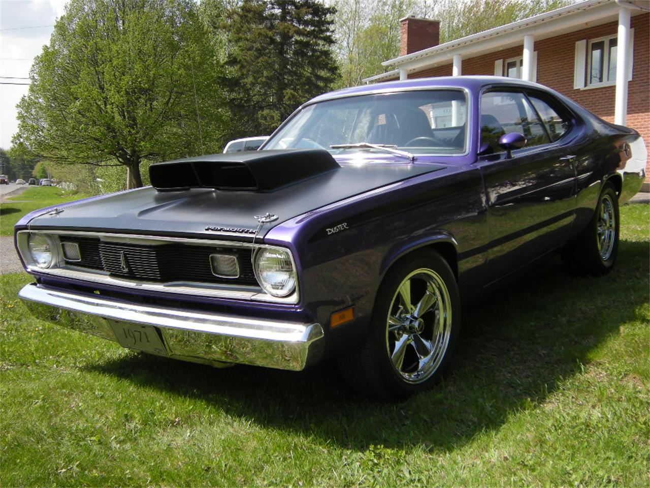 Large Picture of 1971 Plymouth Duster located in Drummondville Quebec Offered by a Private Seller - L4GO