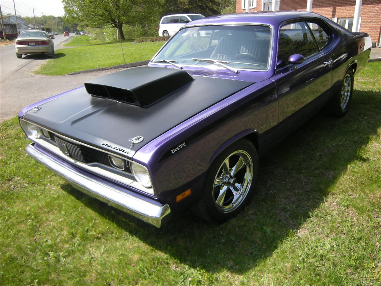 Large Picture of Classic 1971 Plymouth Duster located in Quebec Offered by a Private Seller - L4GO