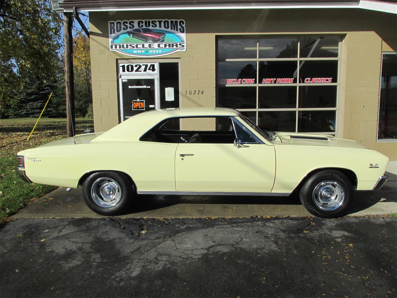 Large Picture of '67 Chevelle SS 396 - 138 VIN - Factory AC - L4H8