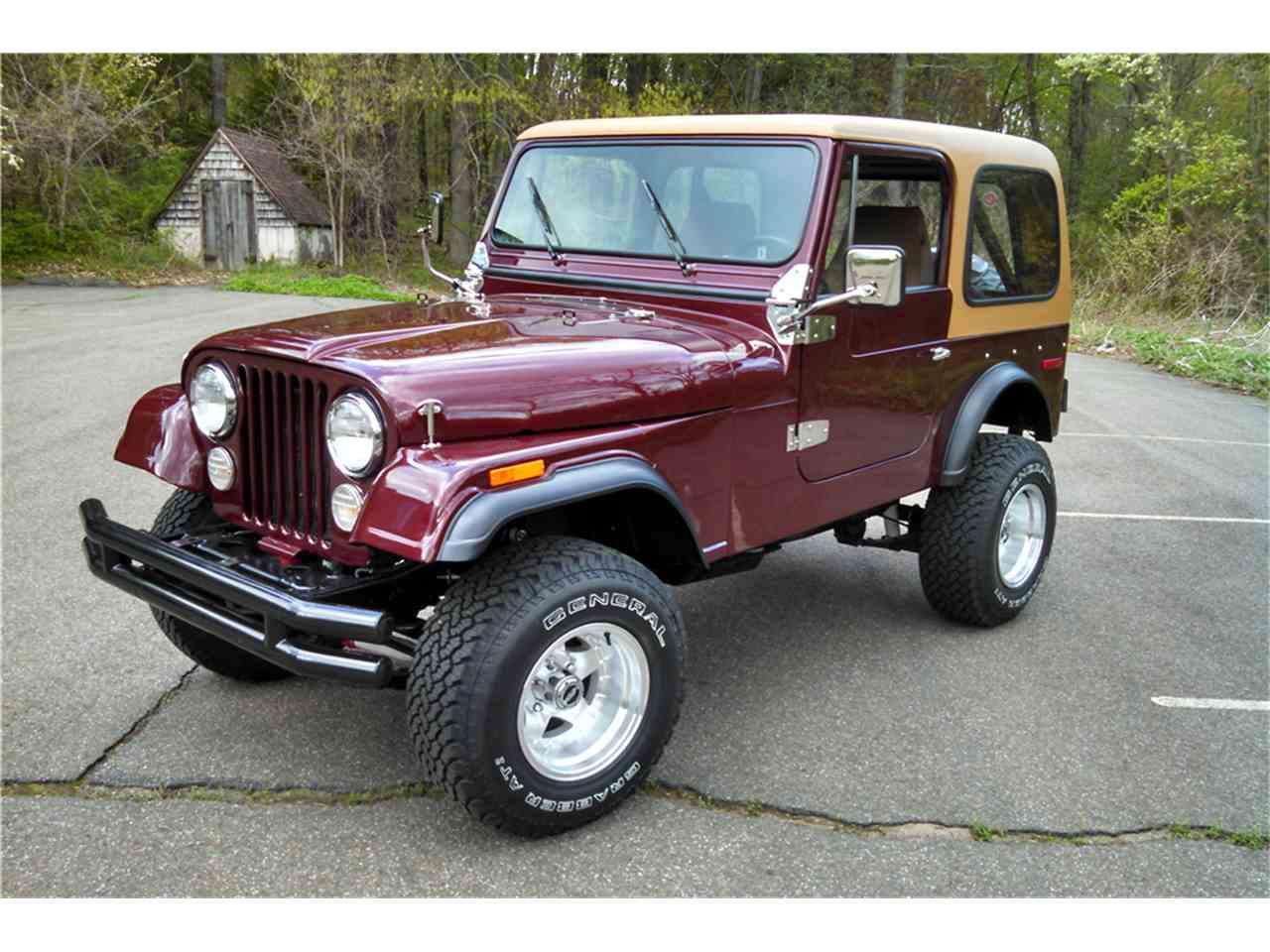 1978 jeep cj7 for sale cc 985711. Black Bedroom Furniture Sets. Home Design Ideas