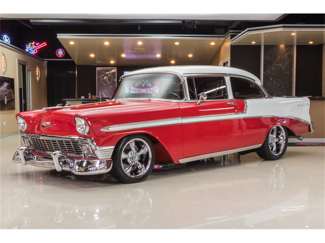 Large Picture of Classic '56 Chevrolet Bel Air located in Michigan Offered by Vanguard Motor Sales - L53N