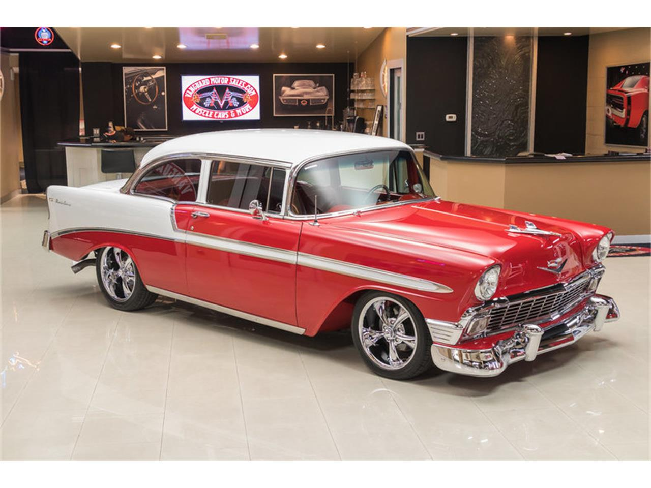 Large Picture of Classic 1956 Chevrolet Bel Air located in Plymouth Michigan - $64,900.00 Offered by Vanguard Motor Sales - L53N