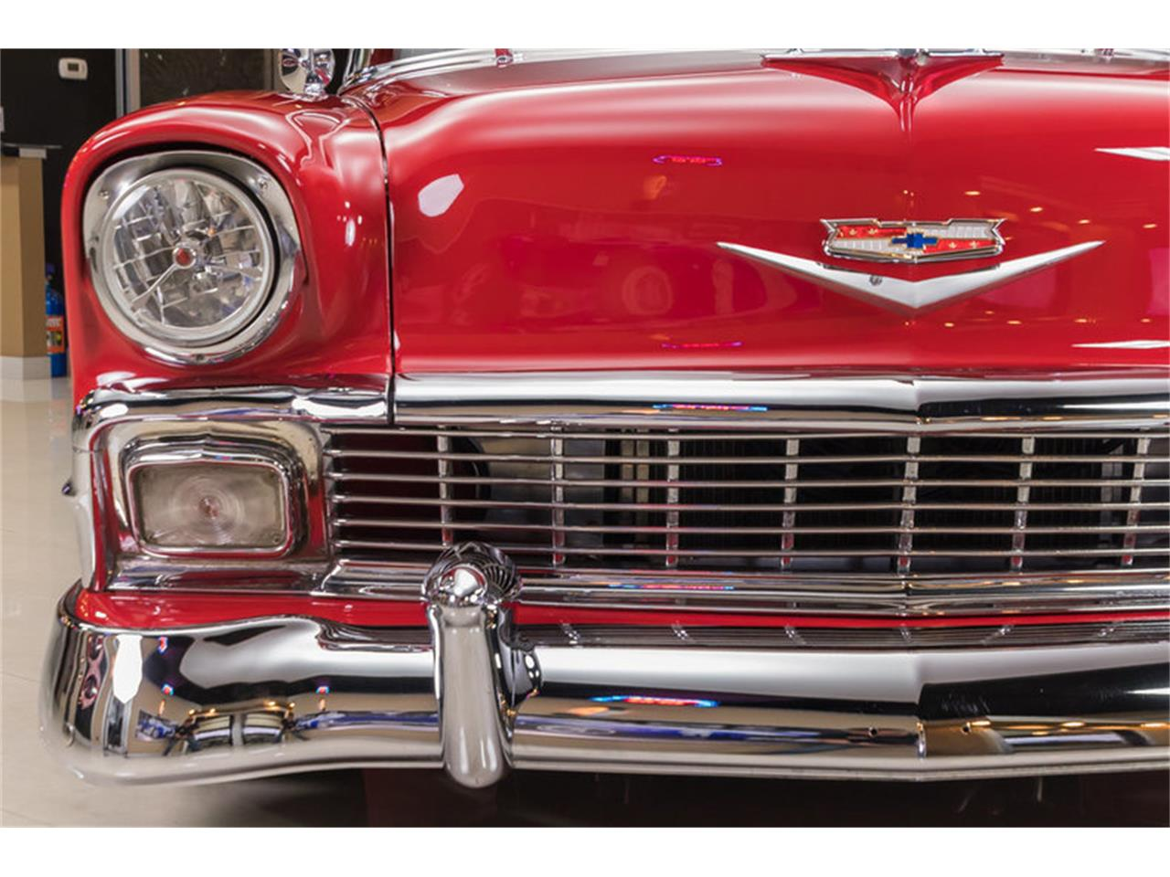 Large Picture of '56 Chevrolet Bel Air located in Plymouth Michigan - $64,900.00 Offered by Vanguard Motor Sales - L53N